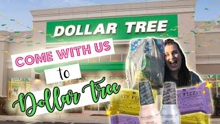 FIRST DOLLAR TREE HAUL | COME SHOP WITH US!