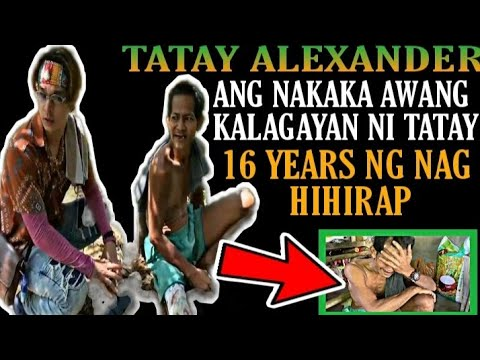 TATAY ALEXANDER NAG HIHIRAP NG 16YEARS| NAPAHAGULHOL KILA KUYA RAB -  (2020)