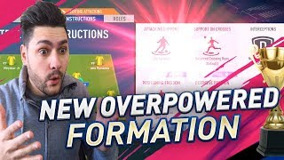 YOU NEED TO TRY THIS OVERPOWERED NEW FORMATION & TACTICS - FIFA 19 FUTCHAMPIONS GAME CHANGER