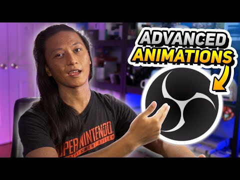 SUPER ADVANCED OBS ANIMATIONS! - 3D Animations, Filters And More!