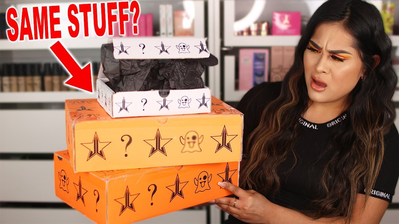 Jeffree Star Cosmetics MYSTERY BOX UNBOXING! Halloween ...