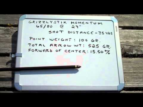 You're not going to believe this! GrizzlyStik Point of Impact Field Point Test