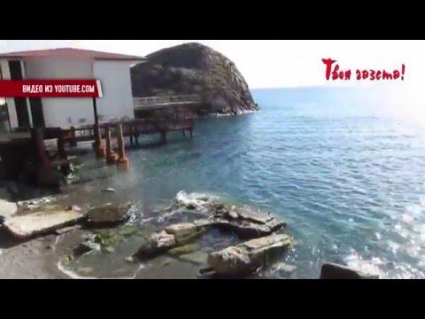 Жители Партенита возмущены состоянием пляжей