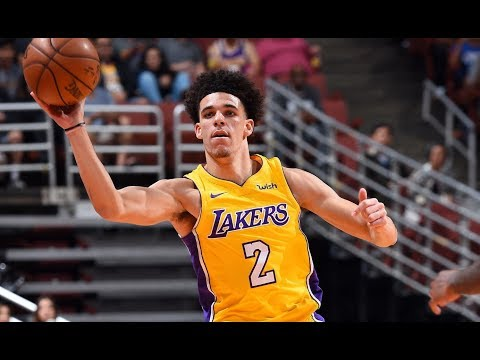 Lonzo Ball, Kyle Kuzma Leads Rookies In NBA Preseason Debuts (VIDEO)