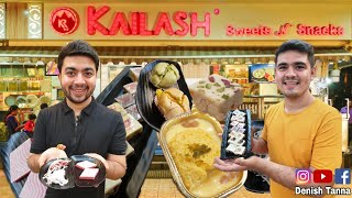 An Epic Tour Of Surat's Best Sweets | Kailash Sweets Traditional Indian Sweet Shop