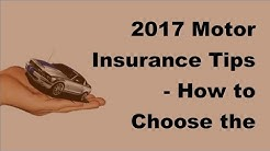2017 Motor Insurance Tips | How to Choose the Best Company Roadside Assistance Coverage