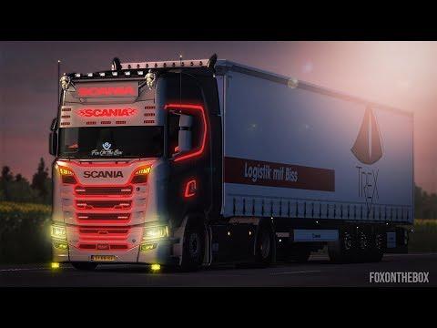 Scania R & S Tuning Mod   Euro Truck Simulator 2 Mod