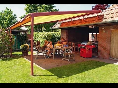 Wonderful backyard shade ideas youtube for Small patio shade ideas