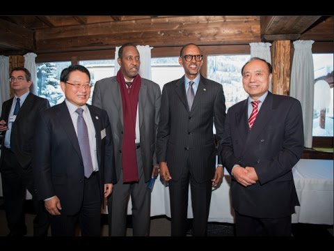 PRESIDENT KAGAME IN DAVOS FOR WEF 2017