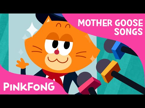 Pussy Cat, Pussy Cat | Mother Goose | Nursery Rhymes | PINKFONG Songs for Children