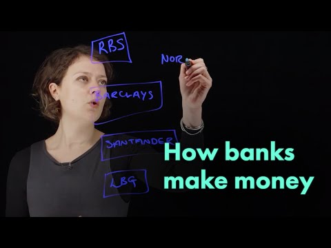 How banks make money | UK retail banking ft. Sarah Kocianski