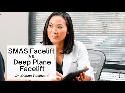 Dr. Kristina Tansavatdi | SMAS Facelift vs Deep Plane Facelift