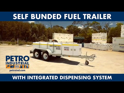 PETRO 2000L Self Bunded Diesel Trailer