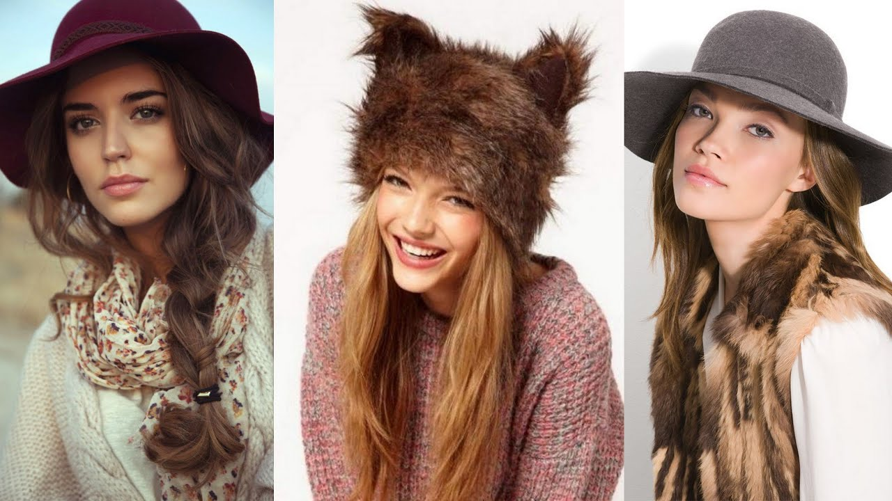 15 adorable hairstyles to wear under your winter hat - youtube