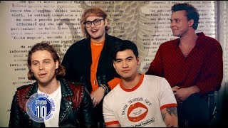 5 seconds of summer talk music tour fans love studio 10
