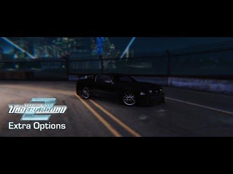 NFS Underground 2 - Extra Options - V3 [OFFICIAL RELEASE!] (v3.0.1.1337)