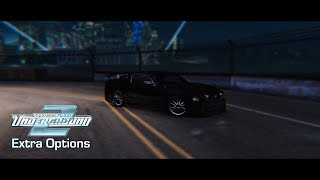 NFS Underground 2 - Extra Options - v3 [OFFICIAL RELEASE!] (v3.0.1.1337)