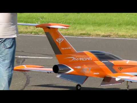 Jet power 2017 Germany , ATJ turbine jet engine gas turbine new version