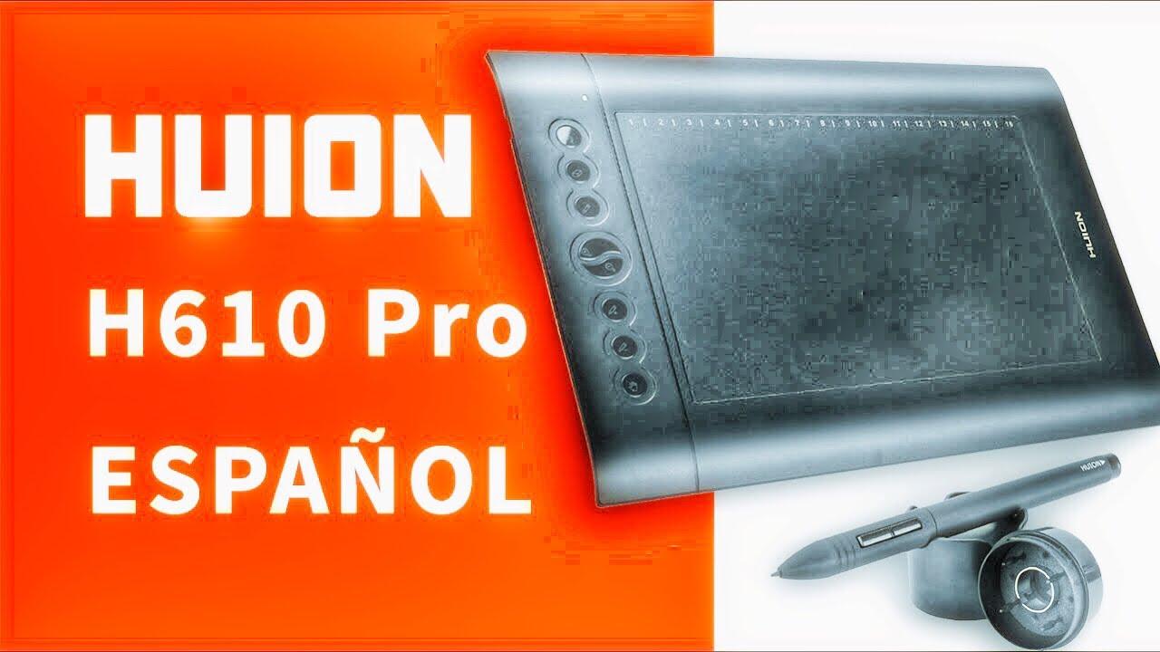 Tabletas Gráficas | HUION H610 PRO En Español