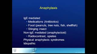 How to Diagnose Anaphylaxis