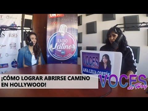 ¡La Reina Del Sur Rompiendo Hollywood! | Voces De Hoy | Radio Latino | Ana Lilia Cortes