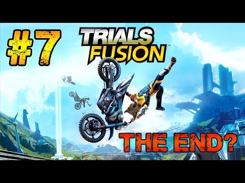 Trials Fusion Gameplay Walkthrough Part 7 - Expert's Club - The End? + Credits (Xbox One)