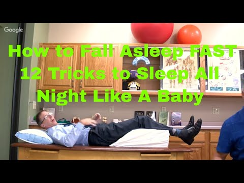 How to Fall Asleep FAST- 12 Tricks to Sleep All Night Like A Baby