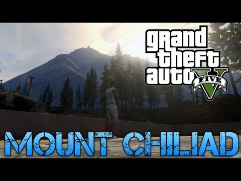 Grand Theft Auto V | DRIVING OFF MOUNT CHILIAD | Michael Free Roam Gameplay