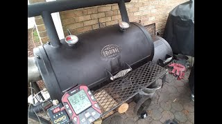 OFFSET COOK WITH BBQ GURU | GURU RIBS ON OFFSET | RIBS N CHICKEN | TEXAS ORIGINAL OFFSET | BBQ GURU