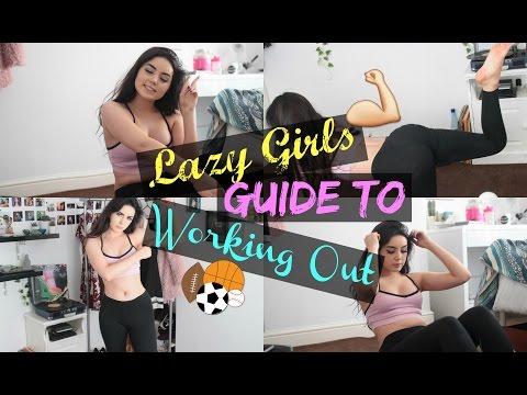 Lazy Girls Workout Routine // Ft. Women's Best Protein Shake