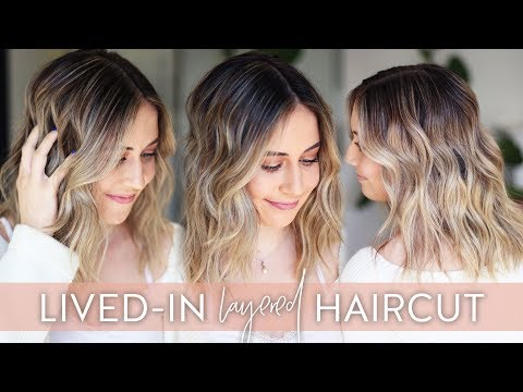 lived-in-layered-haircut-tutorial-with-dry-cutting-techniques-|-modern-shag-haircut-2019