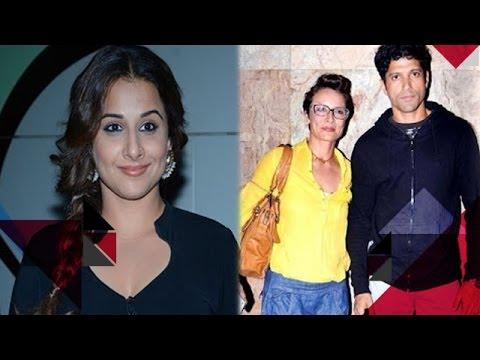 Vidya Balan Is Suffering From Dengue | Farhan Akhtar Not Styled By Ex-Wife Anymore?