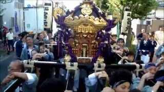平成26年度 立石熊野神社 例大祭  【宮元渡御】