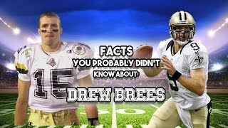 20 AWESOME Facts You Probably Didn't Know About Drew Brees