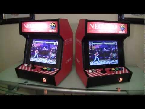 Neo Geo Bartop Arcade System