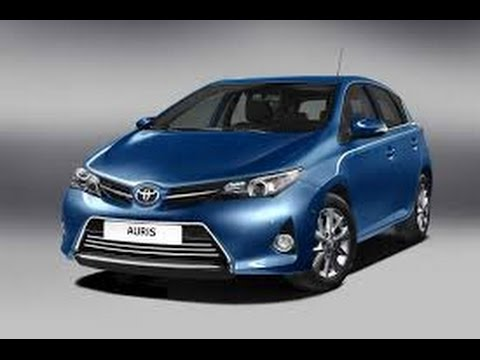 2016 toyota auris youtube. Black Bedroom Furniture Sets. Home Design Ideas