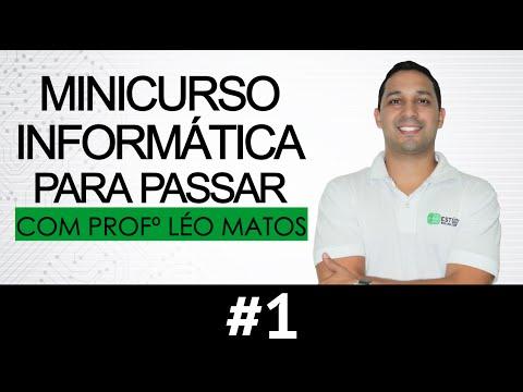 Minicurso Informática para Passar  #1 Hardware - Prof Léo Matos
