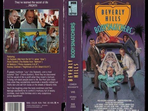 Beverly Hills Bodysnatchers(1989) Movie Review