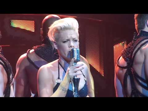 "P!nk - ""Wicked Game"" - Dallas, Tx 2-22-13"