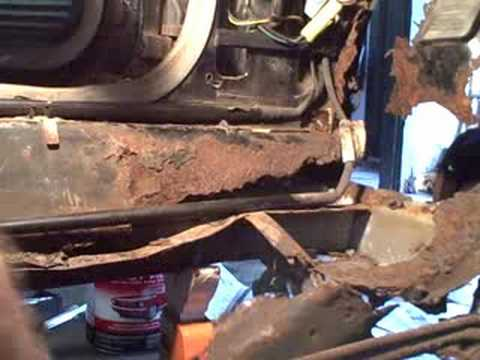 Buick Century Diagram Removing Old Unibody Frame Youtube