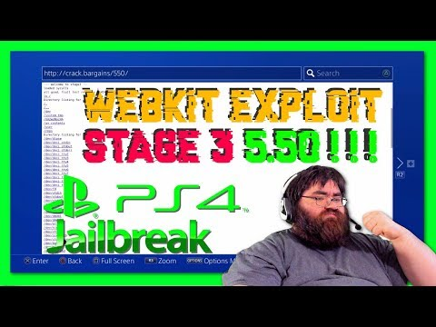 First Ever Real 5.50 Webkit Exploit Stage 3 News *Advised Stay 5.0x Lower*