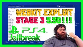 First Ever Real 5.50 Webkit Exploit Stage 3 News *Advised Stay 5.xx Lower*
