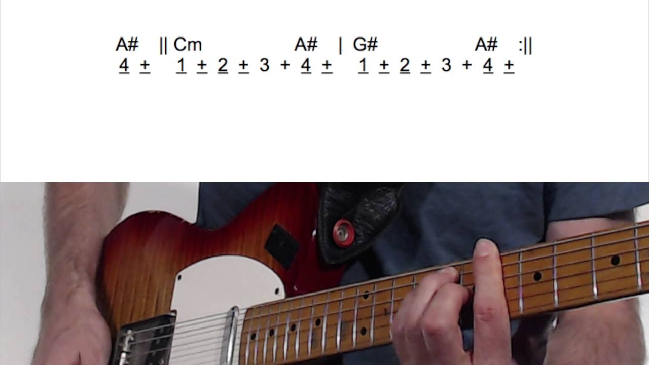 Learn The Guitar Chords For Jimi Hendrixs All Along The Watch Tower