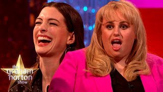 Anne Hathaway & Rebel Wilson LOVE Insulting Each Other | The Graham Norton Show