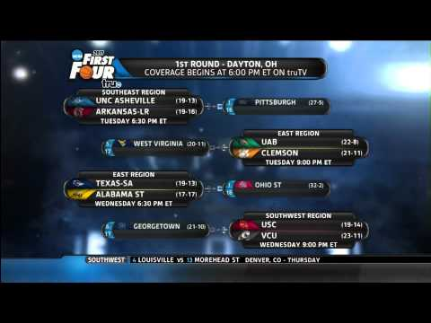 2011 NCAA Men's Basketball Selection Show (March Madness Tournament) 3-13-2011 - Part 5 of 6