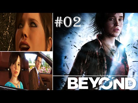 Beyond: Two Souls Gameplay Walkthrough PART 2 - EMBASSY/PARTY