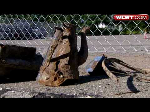 Pieces Of Cincinnati History Unearthed At Banks Dig