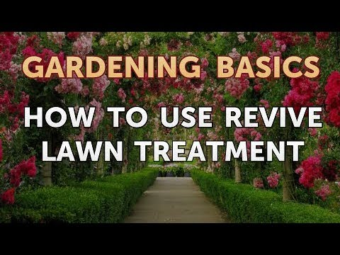 How To Use Revive Lawn Treatment Youtube