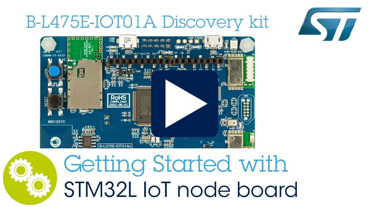 Getting starting with STM32L4 Discovery kit IoT node