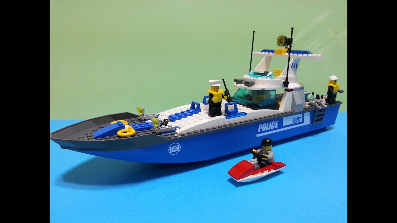 Lego City Police Boat  Build Review